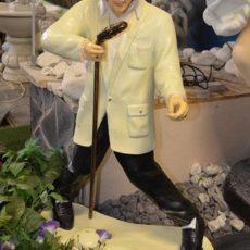 Elvis patsas, Elvis laulaa