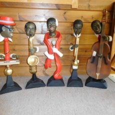 Jazz Bändi patsas, kvartetti