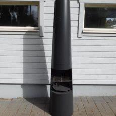 Pihatakka, Aito Nomilo, koristeellinen pihatakka