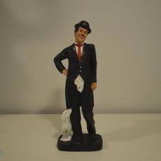 Chaplin ja koirapatsas, naurava