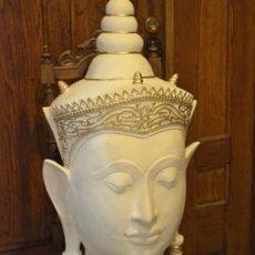 Buddha patsas, pää edestä
