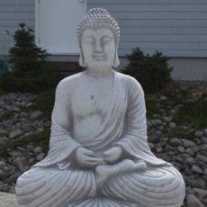 Buddha patsas, istuva betoninen buddha