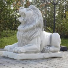 Leijonapatsas, betonipatsas, makaava leijona