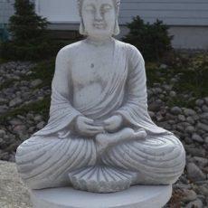 Buddhapatsas, betonia jalustalla