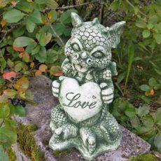 Baby Dragon patsas, betonipatsas, love