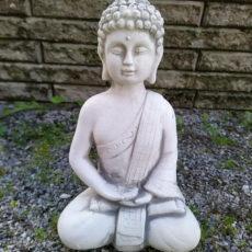 Buddha patsas, pienikokoinen betonipatsas