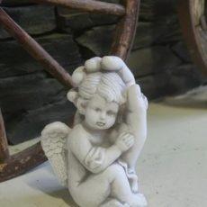 Enkelipatsas, lapsi kämmenellä